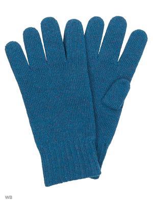 Перчатки United Colors of Benetton. Цвет: синий, белый