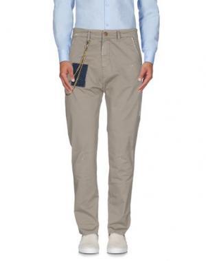 Повседневные брюки YES LONDON. Цвет: бежевый