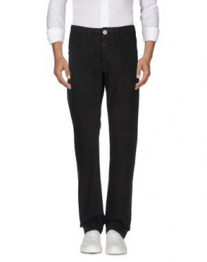 Джинсовые брюки MARITHÉ + FRANÇOIS GIRBAUD. Цвет: темно-коричневый