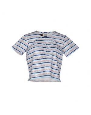 Блузка LE MONT ST MICHEL. Цвет: небесно-голубой