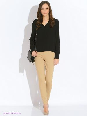 Блузка INCITY. Цвет: черный