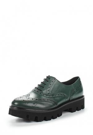 Ботинки Lamania. Цвет: зеленый