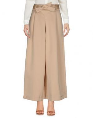 Повседневные брюки NANUSHKA. Цвет: песочный