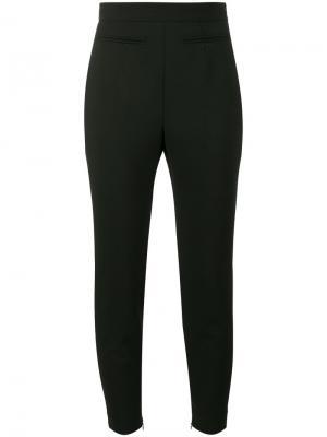 Укороченные брюки с завышенной талией Alexander McQueen 399097QJJ0312145292