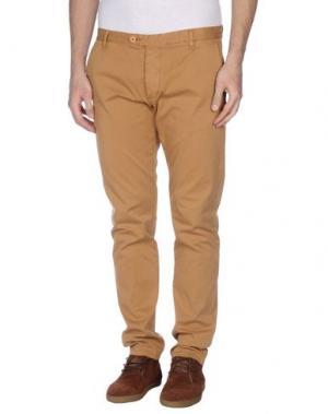 Повседневные брюки OFFICINA 36. Цвет: коричневый