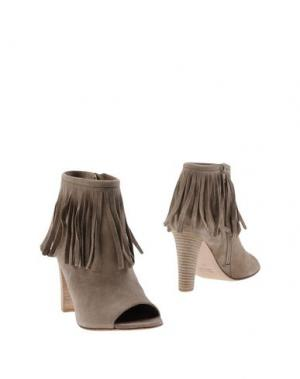 Ботинки ANNA F.. Цвет: хаки