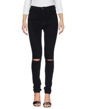 Джинсовые брюки BRIAN DALES. Цвет: черный