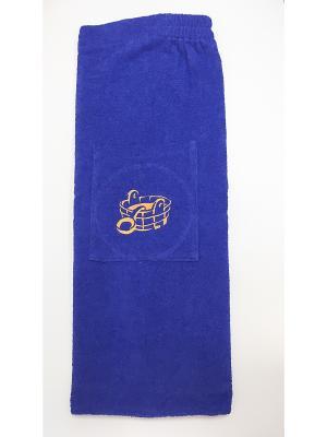 Юбка для сауны A and C Collection. Цвет: синий