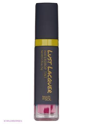 Глянцевый тинт для губ Lust Laquer №5 Persephone, 5г Touch in sol. Цвет: фуксия
