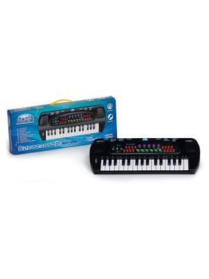 Синтезатор SONATA панель 32 клавиши, 8 тембров, ритмов, 22 демо мелодии, 4 вида ударных Sonata.. Цвет: черный, белый