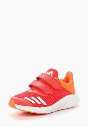 Кроссовки adidas. Цвет: красный