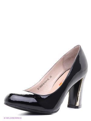 Туфли EVITA. Цвет: черный