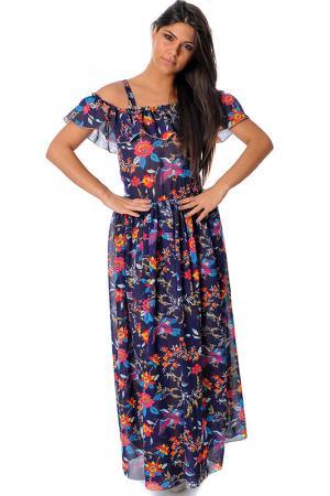 Платье Pietro Garcia. Цвет: мультицвет