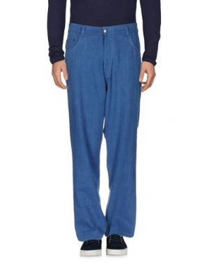 Джинсовые брюки ÉTUDES STUDIO. Цвет: синий