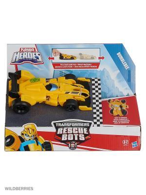 Гоночные машинки-трансформеры Hasbro. Цвет: желтый