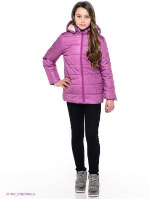 Куртка Батик. Цвет: фиолетовый, розовый
