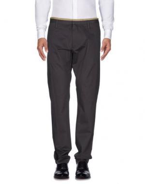 Повседневные брюки MARC BY JACOBS. Цвет: стальной серый