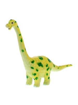 Игрушка фигурка мульт динозавр Брахиозавр HGL. Цвет: желтый