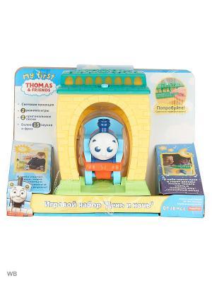 Томас и его друзья Игровой набор с проекцией звуками День Ночь THOMAS & FRIENDS. Цвет: синий