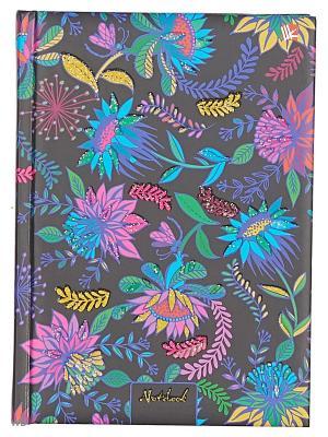 Книга для записей Орнамент. Цветущий сад Канц-Эксмо. Цвет: фиолетовый