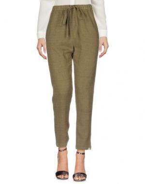 Повседневные брюки BSBEE. Цвет: зеленый-милитари