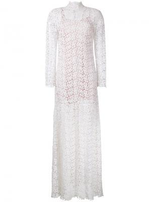 Платье Lyrical Macgraw. Цвет: белый