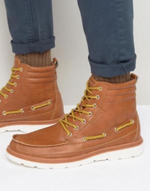 Rock & Religion Ботинки со шнуровкой. Цвет: рыжий
