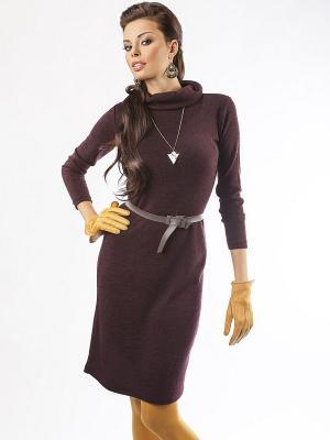 Платье Dea Fiori. Цвет: сливовый