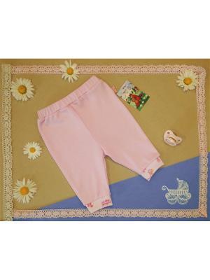 Ползунки-штанишки Рыжий Лис. Цвет: розовый
