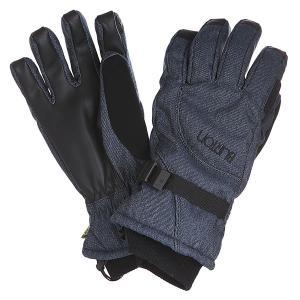 Перчатки сноубордические женские  Pele Glv Blue Denim Burton. Цвет: черный,синий