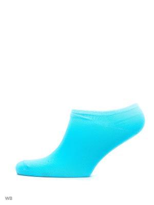 Носки, 3 пары HOSIERY. Цвет: бирюзовый, голубой, розовый