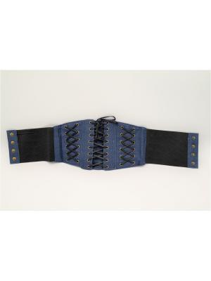 Пояс-корсет Favorit azur. Цвет: голубой