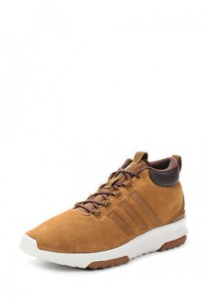 Кроссовки adidas Neo. Цвет: коричневый