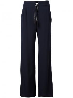 Daimahose trousers Antonia Zander. Цвет: синий