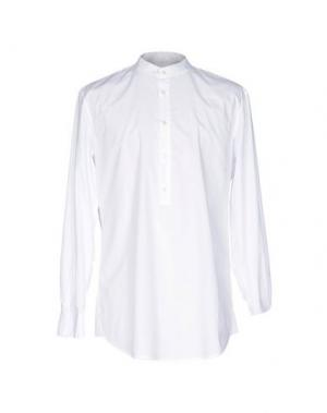 Pубашка BLK DNM. Цвет: белый