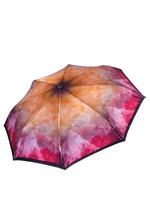 Зонт Fabretti. Цвет: оранжевый, розовый
