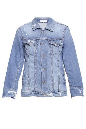 Куртка Boyfriend jeans jacket ND-189183 James. Цвет: синий