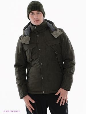 Куртка Salewa. Цвет: серо-коричневый
