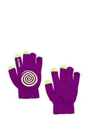 Перчатки Grezzo. Цвет: фиолетовый