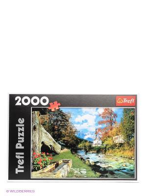 Пазл Баварские Альпы, Германия Trefl. Цвет: зеленый