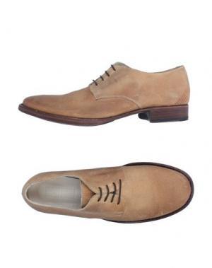 Обувь на шнурках 01000010 by BOCCACCINI. Цвет: верблюжий