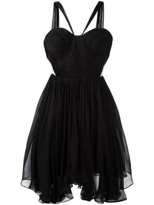 Платье Akilah Maria Lucia Hohan. Цвет: чёрный