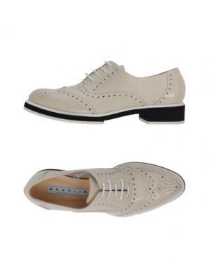Обувь на шнурках F.LLI BRUGLIA. Цвет: слоновая кость