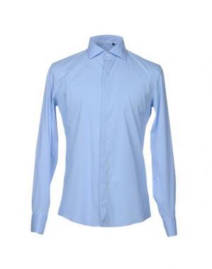 Pубашка SSEINSE. Цвет: небесно-голубой