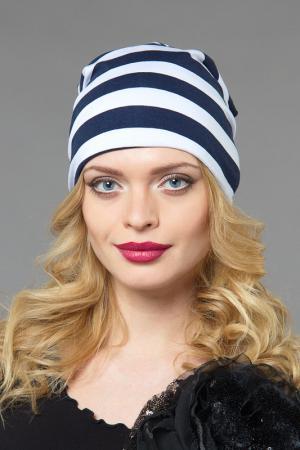 Шапка LakMiss. Цвет: белый, синий
