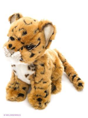 Леопард 16см Hansa. Цвет: светло-коричневый