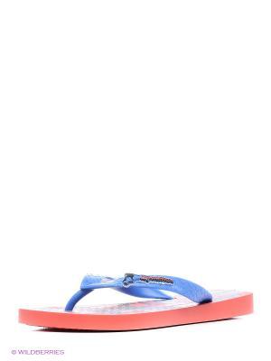 Пантолеты Ipanema. Цвет: красный, синий, серый