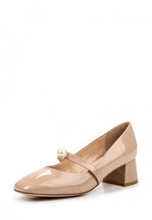 Туфли Grand Style. Цвет: бежевый