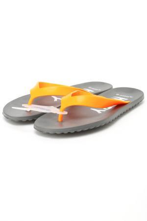 Шлепанцы De Fonseca. Цвет: оранжевый