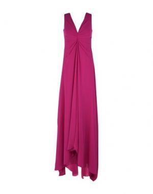 Длинное платье MUSANI COUTURE. Цвет: пурпурный